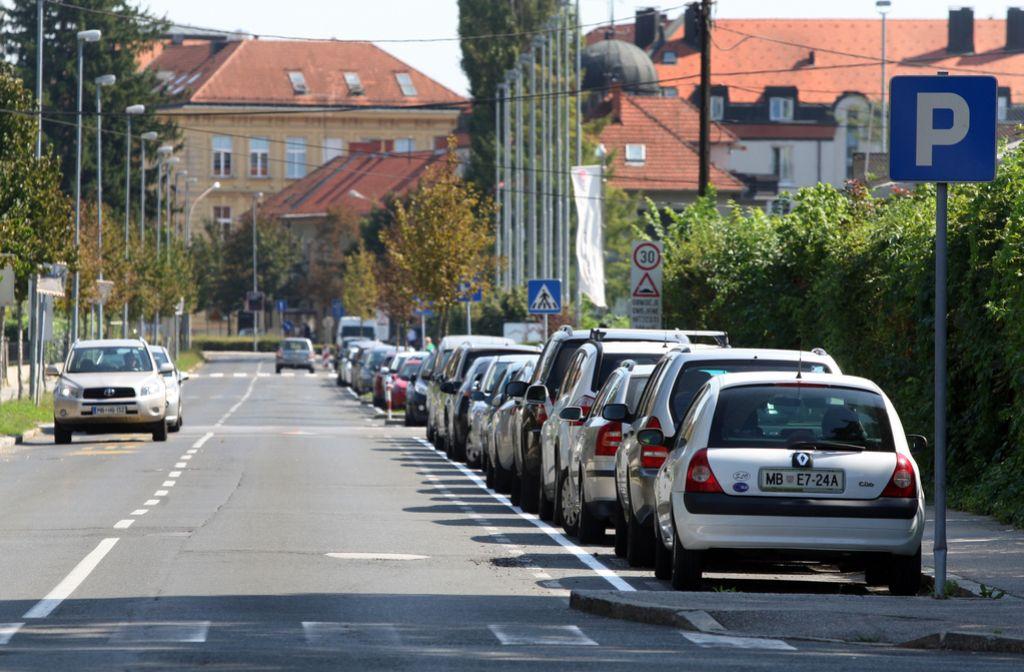 Izterjava računa za parkiranje na Hrvaškem