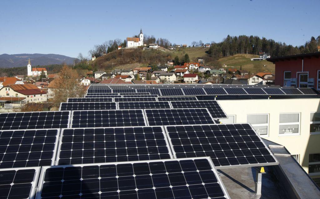 Izjemna proizvodnja sončne elektrike