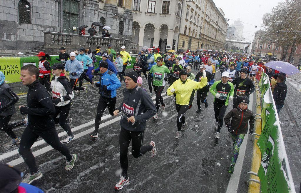 Ljubljanski maraton: Rekreativno je vrhunsko
