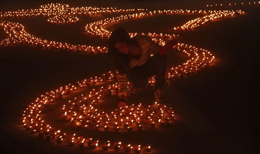 Praznik luči: indijski praznik Diwali