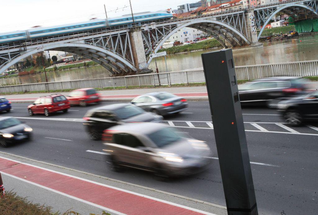 Mariborski radarji zabeležili že 69.000 prekoračitev hitrosti