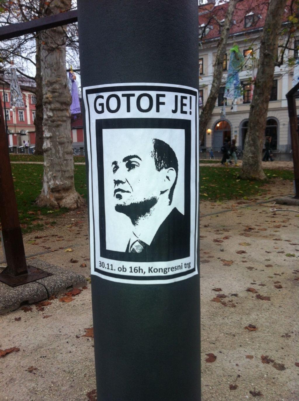(V živo): Protesti v Ljubljani