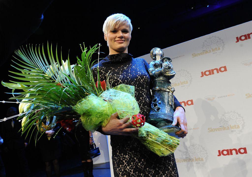 Slovenka leta 2012 je Urška Žolnir