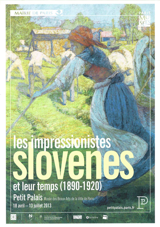 Slovenski impresionisti potujejo v Francijo