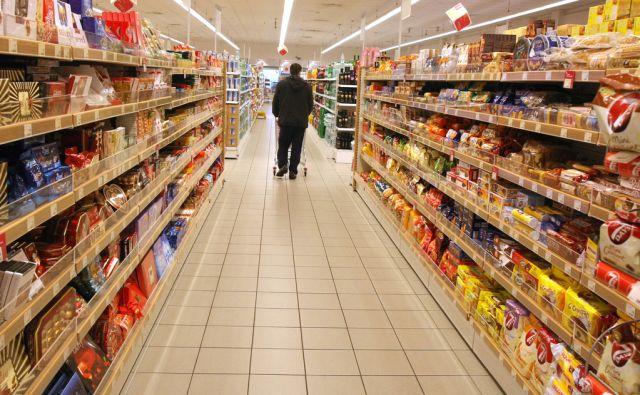 Slovenija, Ljubljana, 04.Februar2009, Mercatorjev supermarket na Parmovi. Foto: Igor Zaplatil/Delo