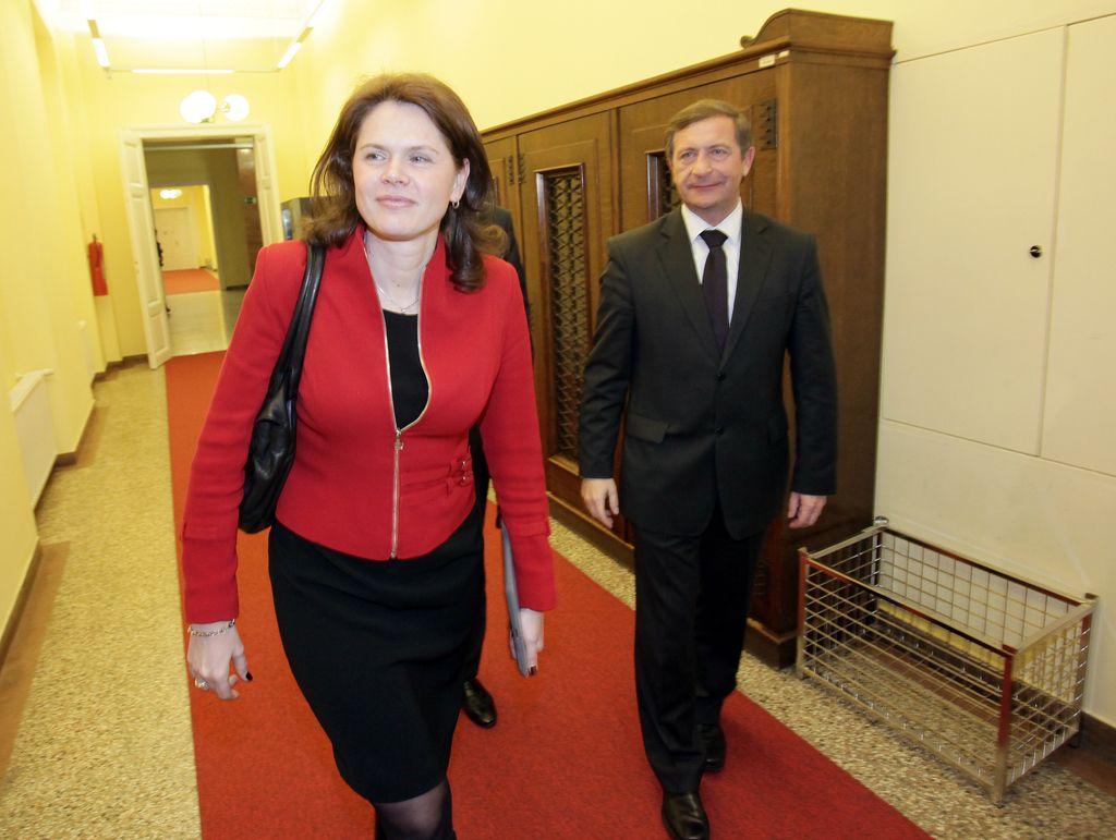 Lukšičev ne Bratuškovi: »Imate zamrznjenega predsednika.«