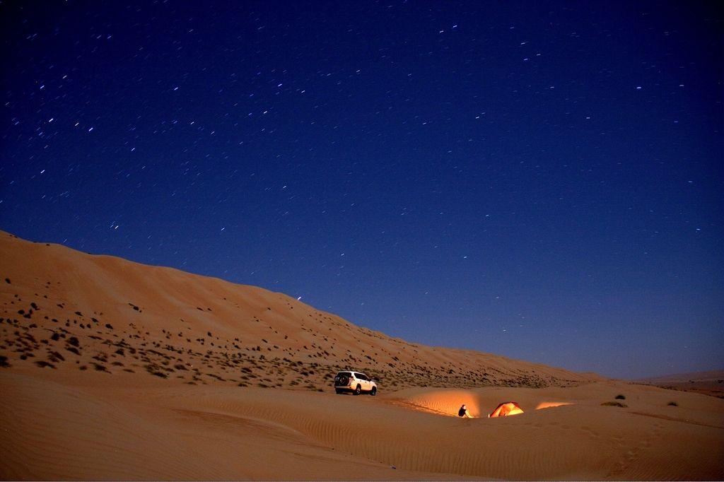 Potovanje v peščena nedrja Omana