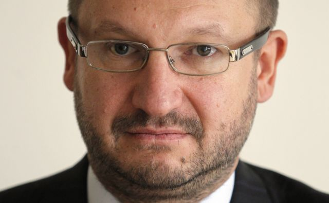 Slovenija.Ljubljana.19.10.2011 Sergej Simoniti novi direktor Pozavarovalnice Sava.Foto:Matej Druznik/DELO
