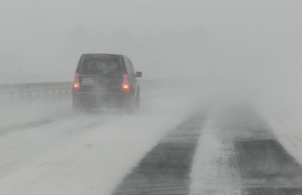 Na avtocesti preventivna signalizacija za meglo