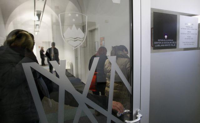 LJUBLJANA 27.01. 2012 Center za socialno delo Ljubljana Moste Polje na Zalosski cesti. Foto: ALESS CCERNIVEC/Delo