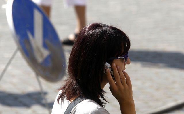 Ljubljana 16.09.2011 - Mobilna telefonija.foto:Blaz Samec/DELO