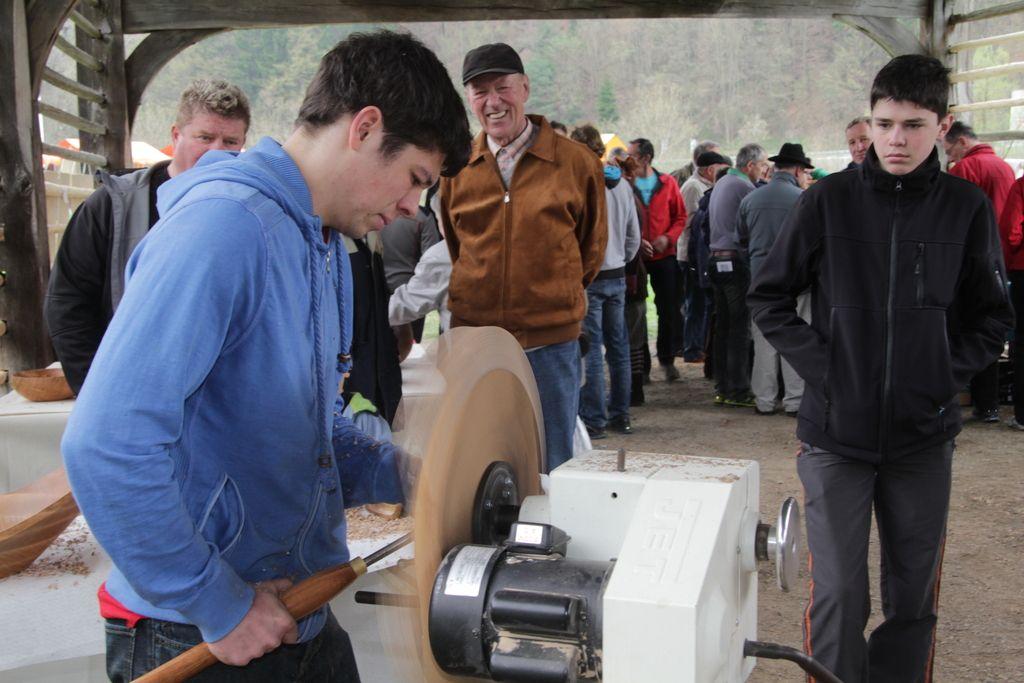 Struženje lesa je bolj umetnost kot obrt
