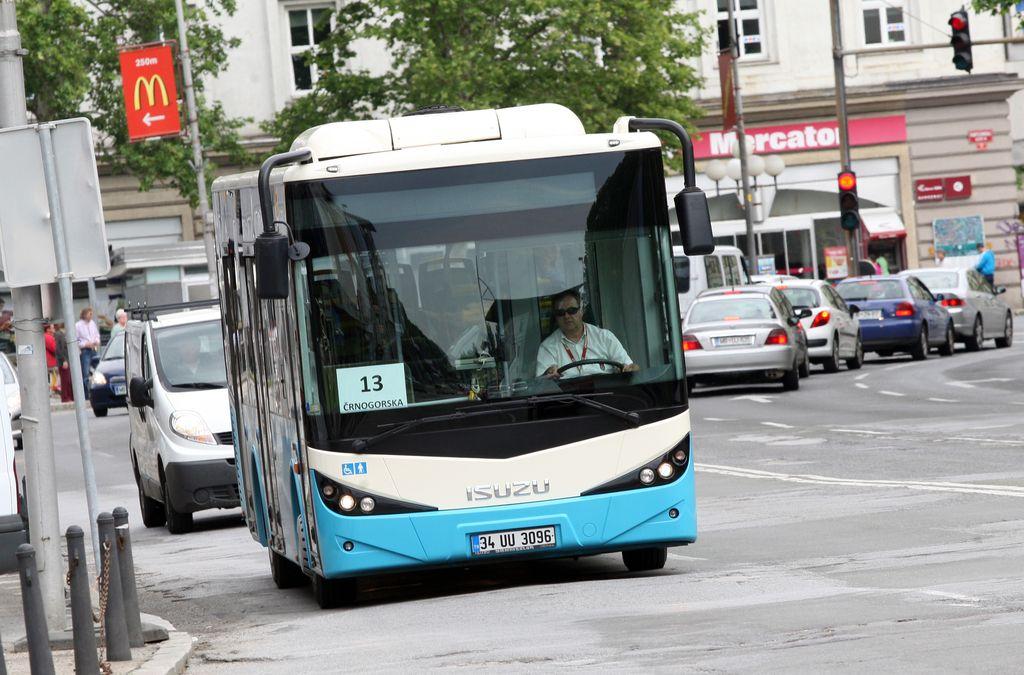 V Mariboru uvajajo dinamične prikazovalnike prihoda avtobusov