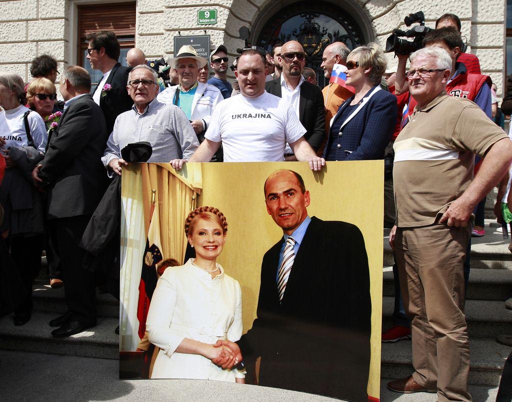 Janša, Julija Timošenko in Služba državne varnosti