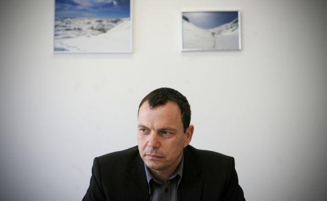 Slovenija, Ljubljana, 09.02.2012. Harij FURLAN, vodja specializiranega tozilstva za organiziran kriminal na NPU. Foto: Uros HOCEVAR/Delo