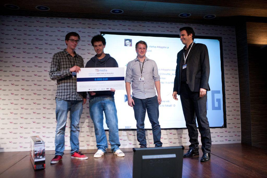 Zmagovalci DIGGIT startup izbora so ShowMeAround