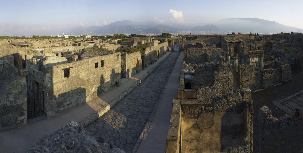 Pompeji: Počitnice pod vulkanom