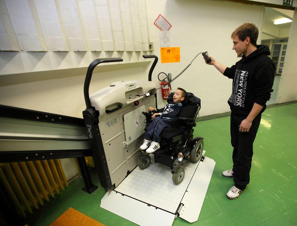 Naskok na nagrado za mesto, prijazno do invalidov