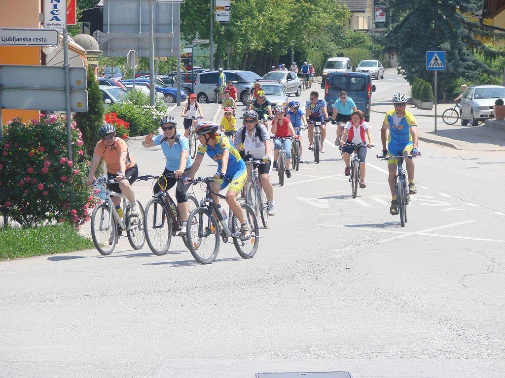 Velika kolesarska prireditev v Litiji