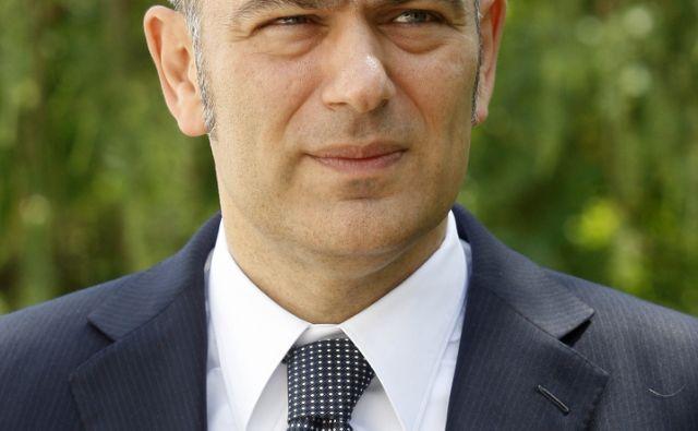 Mirna 01.06.2011 - predsednik uprave Atlantic Grupa (Droga Kolinska) - Emil Tedeschi.foto:Blaz Samec/DELO