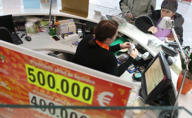 Ljubljana 30.1.2013, loterija foto: Tomi Lombar