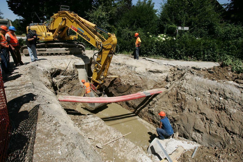 Milijoni za kanalizacijo na mariborskem koncu