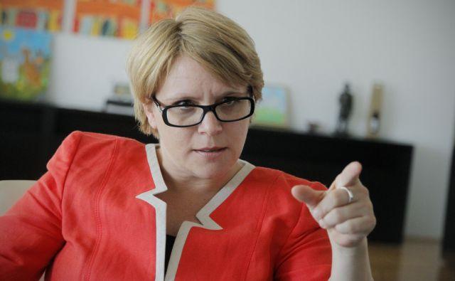 Ministrica za delo, družino, socialne zadeve in enake možnosti dr. Anja Kopač Mrak v Ljubljani, 16. julija 2013