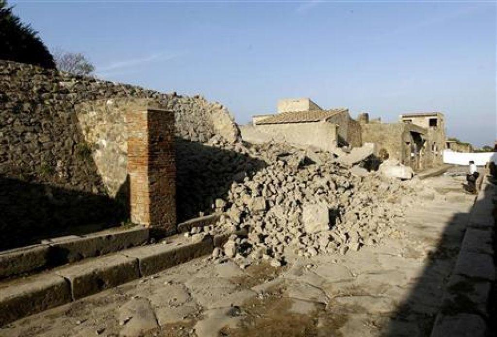 Pompeji na seznamu ogrožene Unescove dediščine?