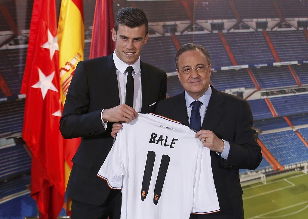 Nogometni svet: Baleov prestop v Real najdražji v zgodovini