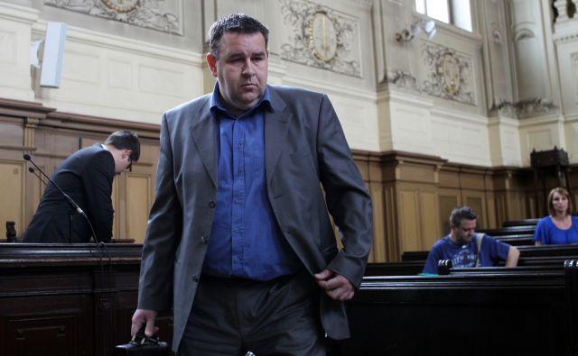 Sojenje Zlatanu Kudiću in soobtoženim v Ljublajni 15.maja 2013
