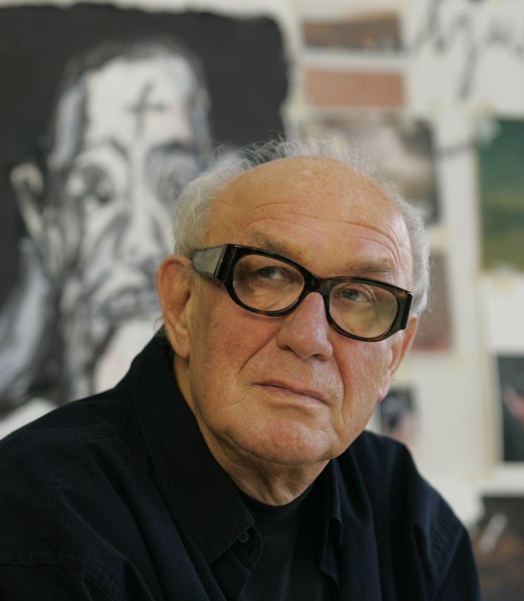 Umrl slikar in akademik Janez Bernik
