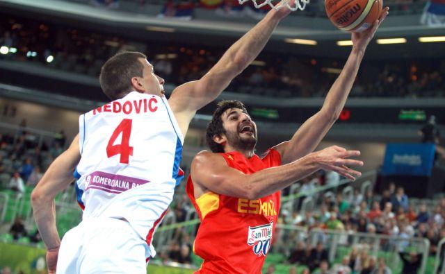 Košarka Španija Srbija
