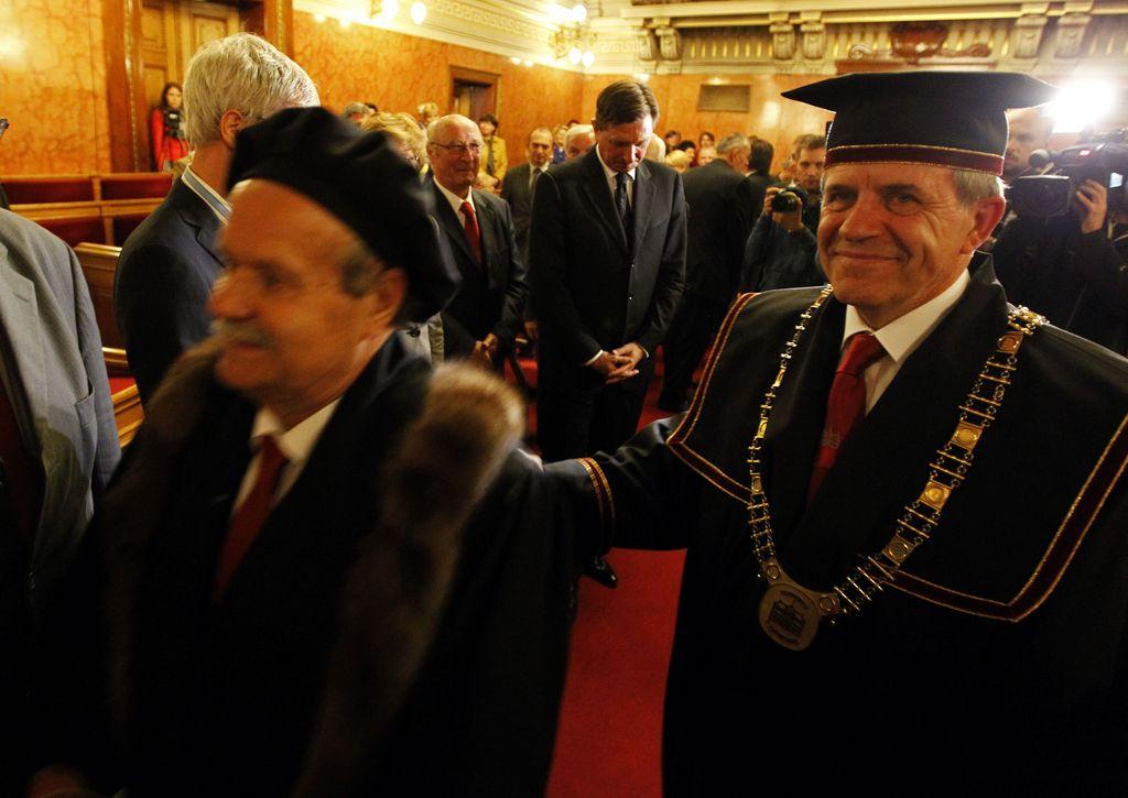 Ivan Svetlik prisegel kot novi rektor Univerze v Ljubljani