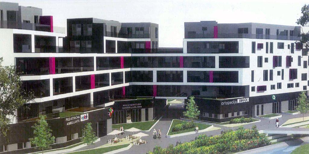 Urbana oaza na Viču po novem soseska za upokojence