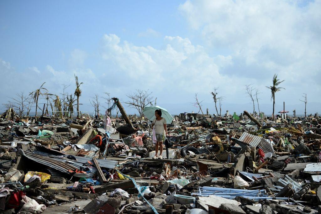 Tajfun Haiyan: kot cunami, a ne povsem enako