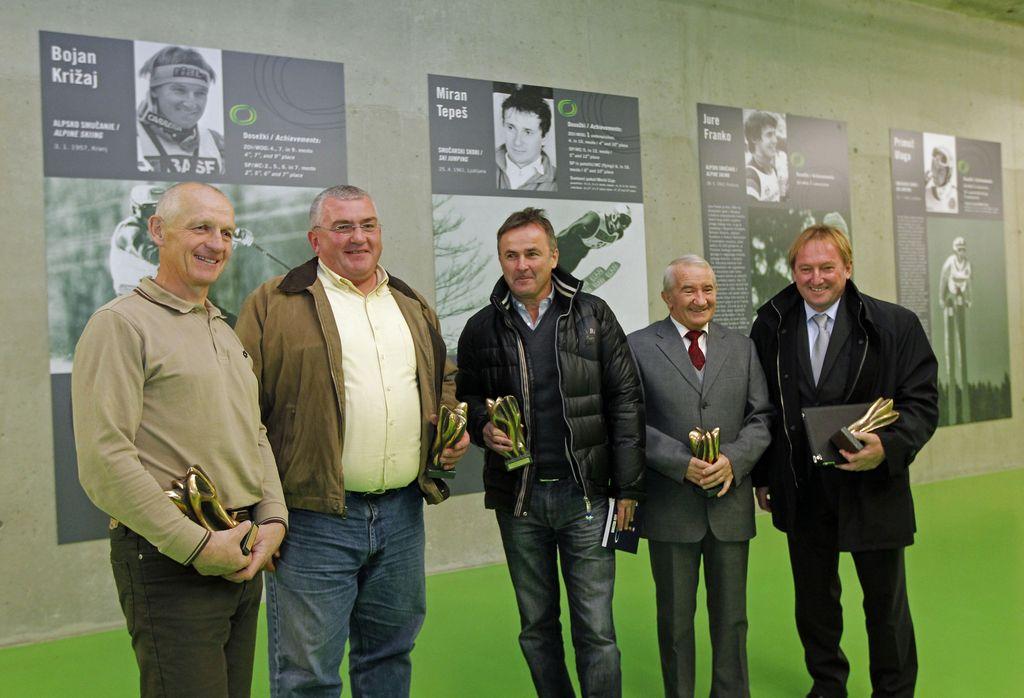 Hram slovenskih športnih junakov sprejel 28 novih članov