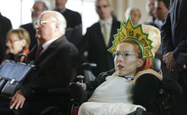 Sprejem invalidov