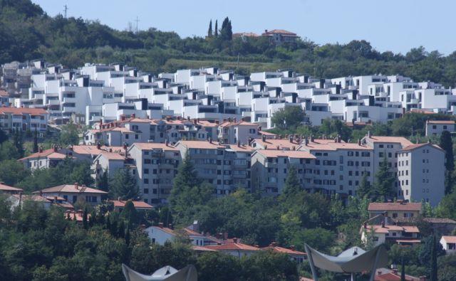 šuligoj Novo stanovanjsko naselje Nokturno v Kopru