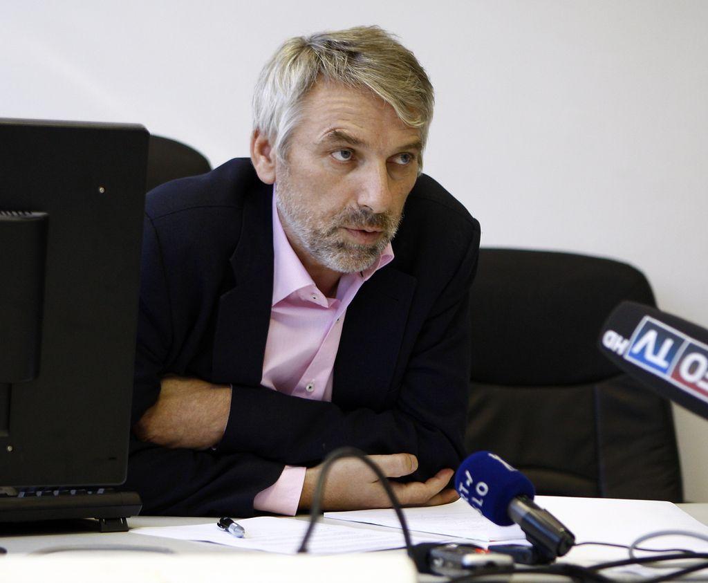 Novinar in nekdanji lastnik Info TV Vladimir Vodušek v osebnem stečaju