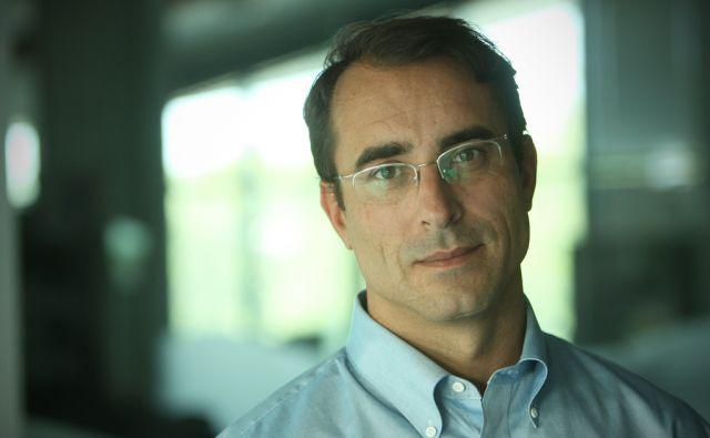 Andrej Mertelj, izvršni direktor delniške družbe DATALAB v Ljubljani 21.avgusta 2013.