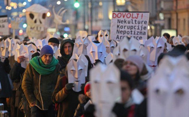 Ljubljana 7.2.2013, protestival foto: Tomi Lombar