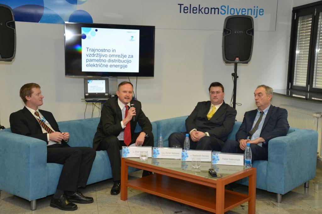 Telekom in pametna elektroenergetska omrežja