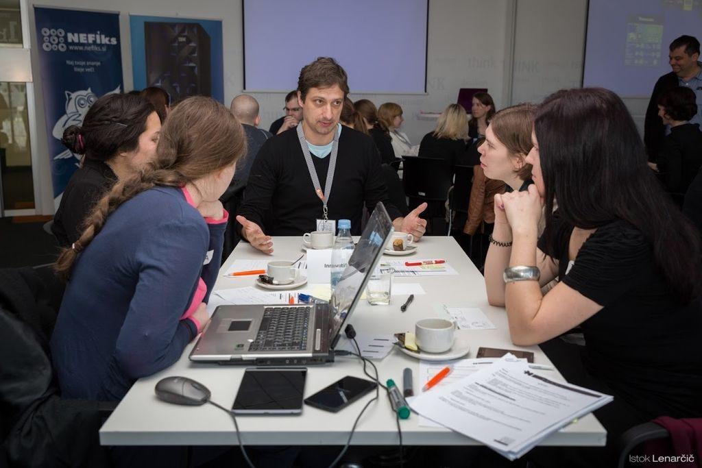 Mladi pred delodajalce z idejami