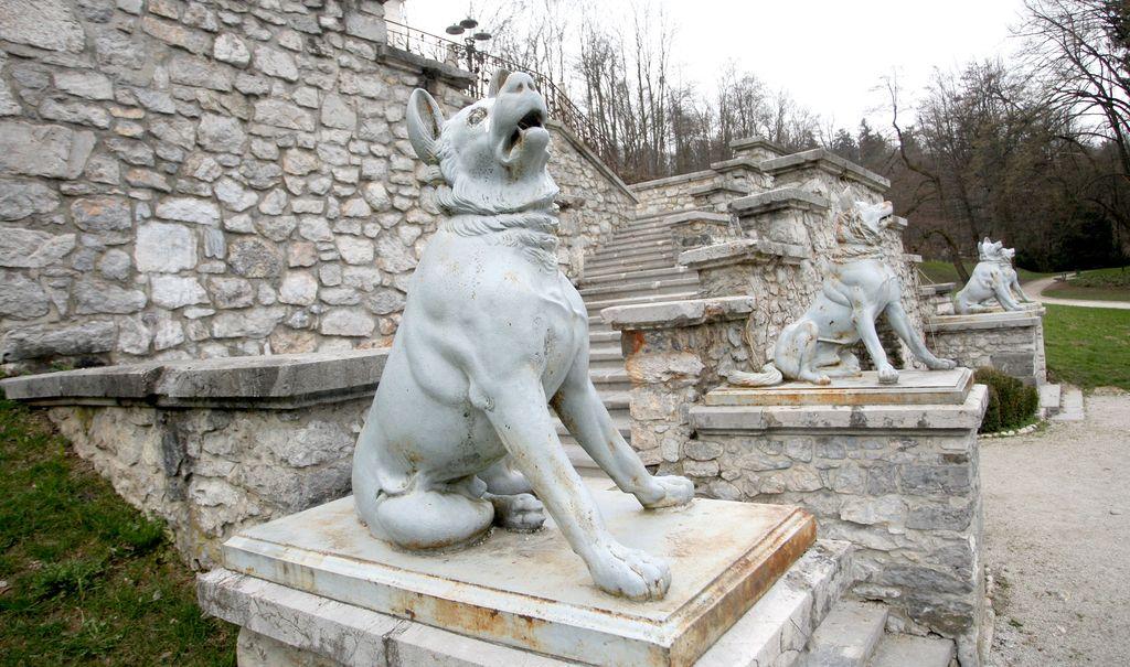 Stopnišče pod Tivolskim gradom bodo prenovili