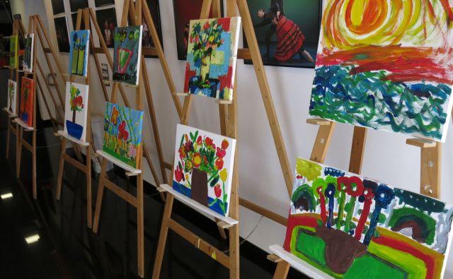 Umetnine oseb z Downovim sindromom v Kopru