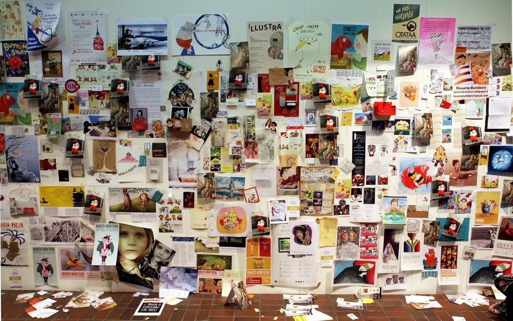 Sejem otroških knjig v Bologni: V svetu zgodb, povedanih s podobami