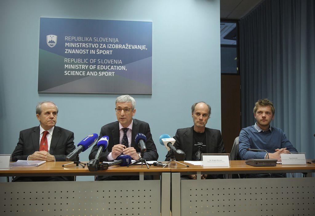 Minister, rektorja in ŠOS družno v podporo visokošolskemu zakonu