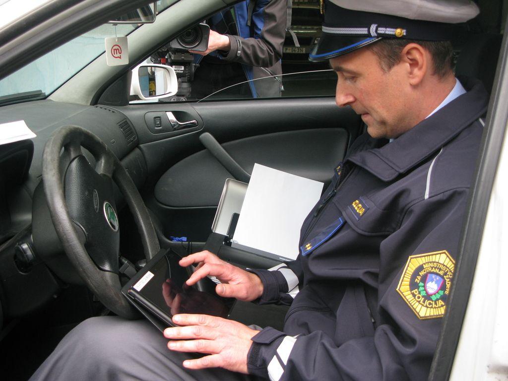 Policisti napovedali stavko