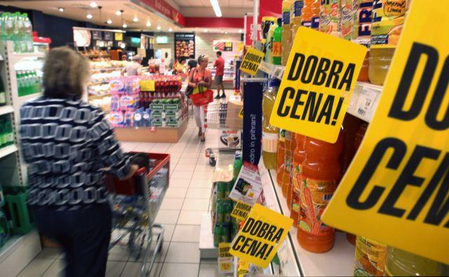 Trgovina na Parmovi ulici, v Ljubljana 14. junij 2013