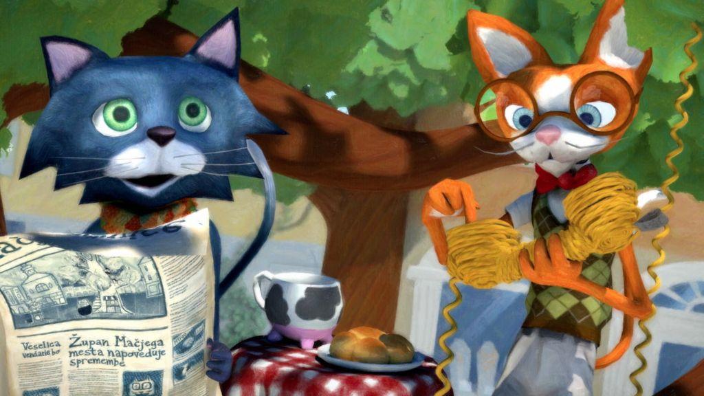 Maček Muri bo filmska zvezda